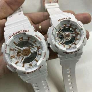 2 for 2500 babyg&gshock couple watch OEM japan made