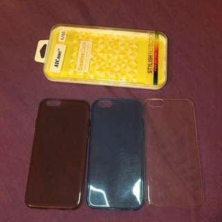 iPhone 6 clear phone case bundle