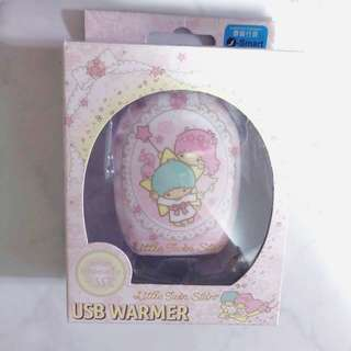 Little twin stars usb warmer 暖蛋