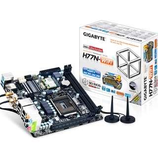 Gigabyte H77-n Wifi + Intel i7 3770K + 16Gb ram