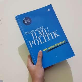 Dasar-Dasar Ilmu Politik by Prof. MIRIAM BUDIARDJO (Tidak Asli,Hasil Print)