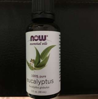 Now essential oil eucalyptus 30ml