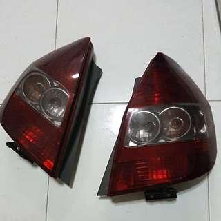 Honda Jazz Fit GD1 tail lights