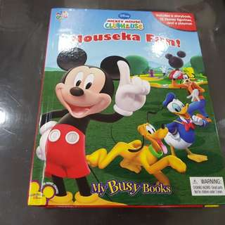 Busy Book Mickey
