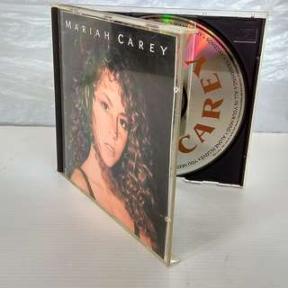 Original CD, Cover, Booklet by Mariah Carey, 1990 Columbia, Vision of Love, Someday, Love takes time, Alone in Love