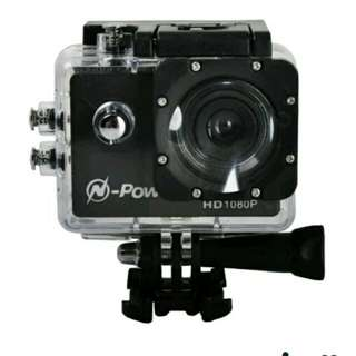 N-Power HD1080p Action Camera Black
