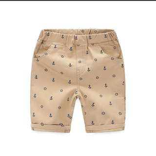 BN BOYS SHORTS WITH DESIGN (SIZE 100-110)