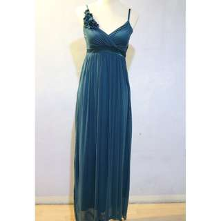 Formal Long Dress In Teal