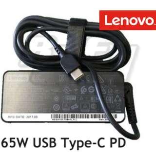*Original* Lenovo 65W AC Power Supply Adapter Charger (USB Type C) Thinkpad x1 carbon 2017 yoga apple macbook