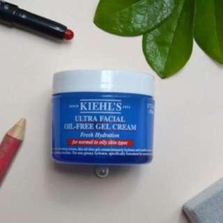 Kiehl's Ultra Facial Oil-Free Gel Cream Travel Size 7ml #Contiki2018