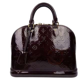Louis Vuitton Amarante Vernis Alma PM