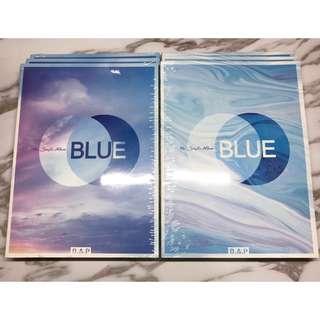 BAP blue ab兩版全新未拆專輯