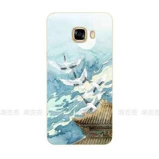 Samsung c7手機軟殼
