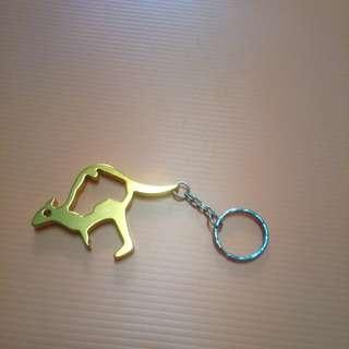 kangaroo keychain cum bottle opener