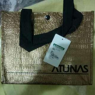《全新》歐都納手提袋/金色禮物袋
