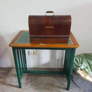 Singer sewing machine hand