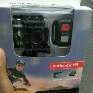 Action Camera with remote
