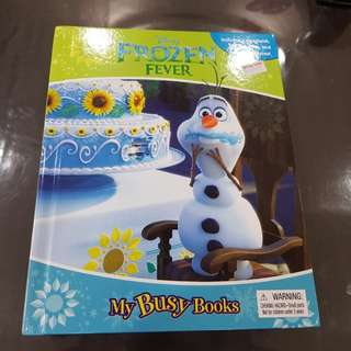 Busy Book Frozen