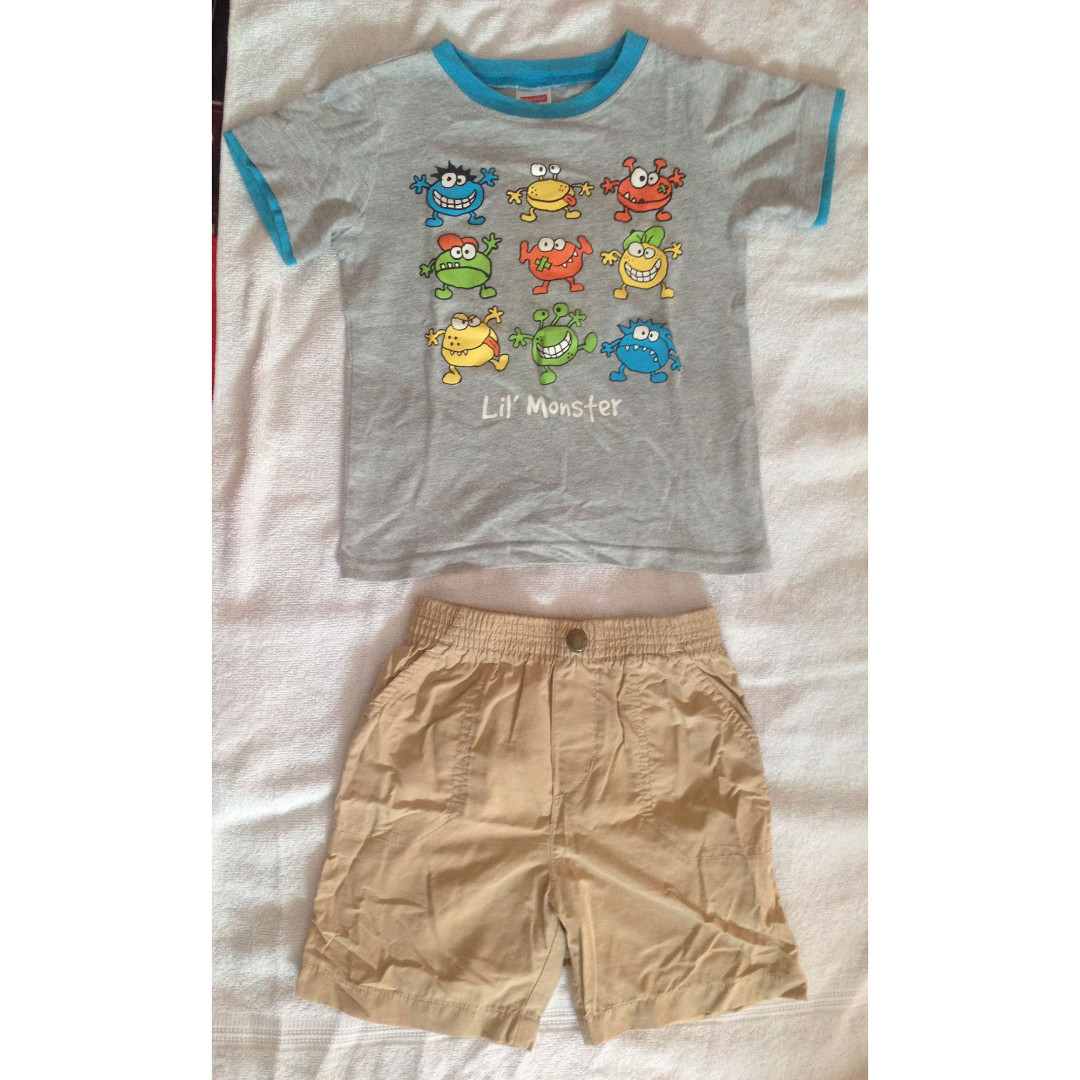 1 set Top + Bottom Fisher Price for Boy