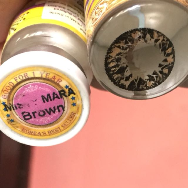1 Year Contact Lens - Misty Maria Brown