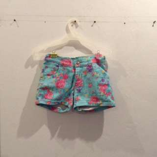 jusTees Floral Shorts