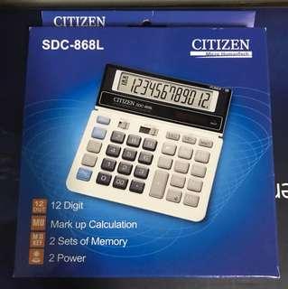 Citizen SDC-868L 12 digit calculator