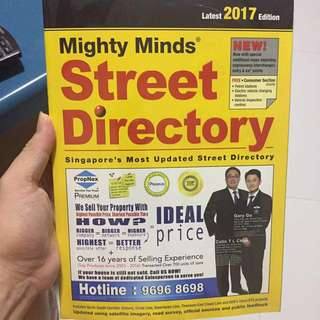 Brand new street directory for sale!
