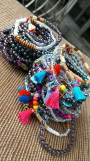 Customized bead bracelets SUPER CUTE AND AFFORDABLE!!! ---and MORE!