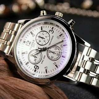 Yazole quartz watch for men