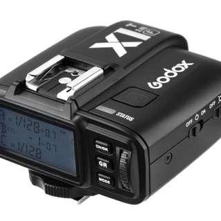 Godox x1t-f trigger (fujifilm)