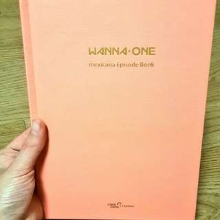 Wanna One Mexicana Episode Book
