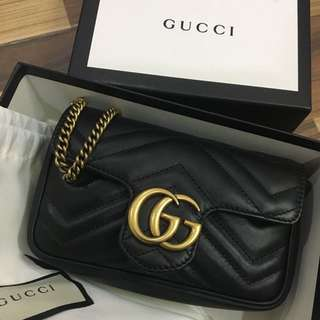 Gucci supermini crossbody bag