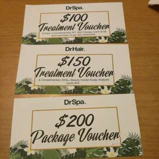 Dr Hair Dr spa vouchers
