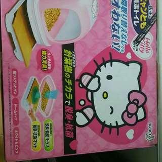 Hello Kitty 花王貓厠所 Kao