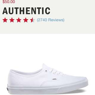 Vans Sneakers All White