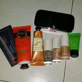 Skin care and nail polish