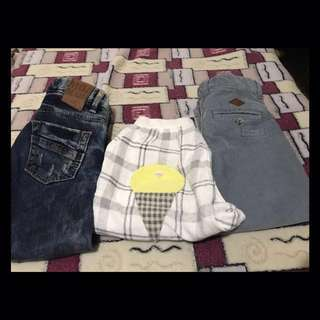 Boys Assorted Pants 2