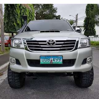 Toyota Hilux 2013 G M/T Loaded