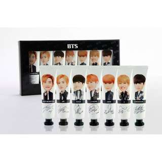 BTS Handcream (7 members)