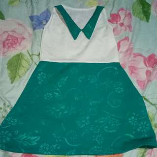 Dress White&Bluegreen