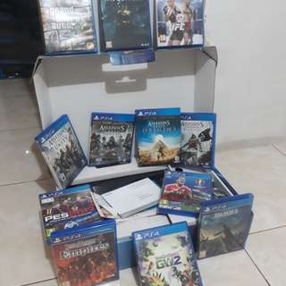 PS4 FAT CUH-1106A 500GB + 12 Games
