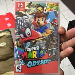 Mario odyssey Nintendo switch (Wtt or sell)
