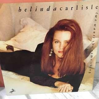 Belinda Carlisle vinyl record