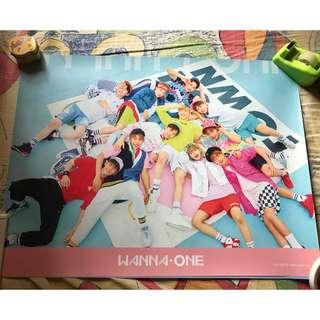 wanna one 1x1=1專輯海報 粉版