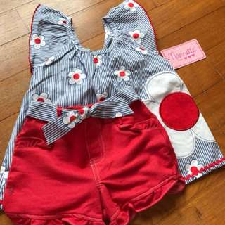 Nannette Top/ pants set, 4yrs
