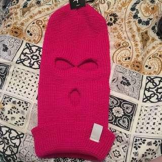 Pink Ski Mask