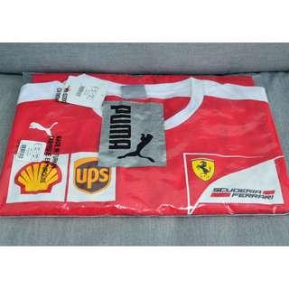 Puma Scuderia Ferrari Kimi Raikkonen T-shirt Size XXL