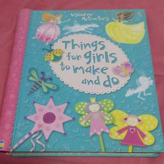 Things for girls to make and do usborne activities