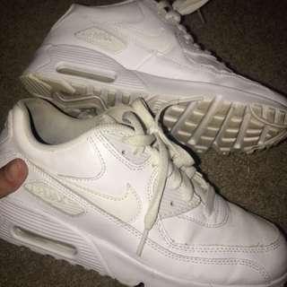 Nike White air max women's