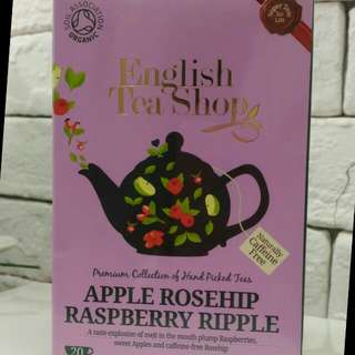 English Tea Shop Apple Rosehip Rasberry Ripple